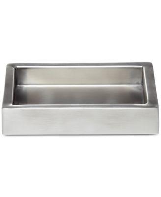 Modern Bath Satin Soap Dish