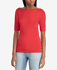 Lauren Ralph Lauren Boatneck Top