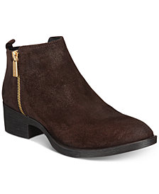 Kenneth Cole New York Women's Levon Zip-Up Ankle Booties