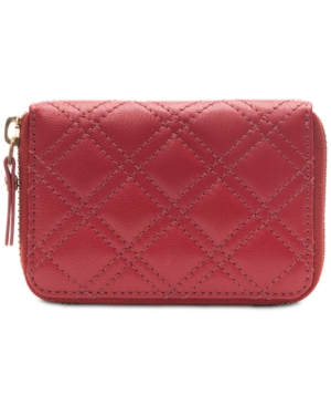 Image of Collection Xiix Quilted Leather Mini Zip-Around Wallet