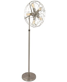 Ozzy Vintage Industrial Floor Lamp