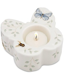 Lenox Butterfly Meadow Butterfly Votive with Candle