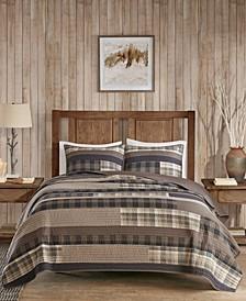 Winter Plains 144-Thread Count 3-Pc. King/California King Quilt Mini Set