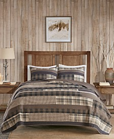 Woolrich Winter Plains 144-Thread Count 3-Pc. King/California King Quilt Mini Set