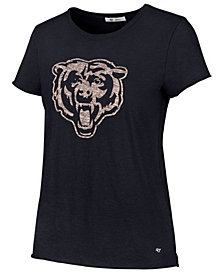'47 Brand Women's Chicago Bears Letter Crew T-Shirt
