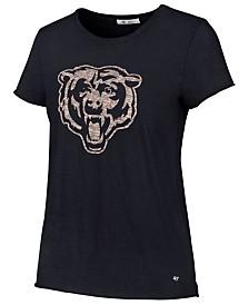 '47 Brand Women's Chicago Bears Letter Crew T-Shirt