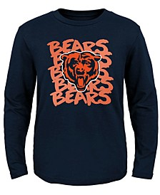Chicago Bears Graph Repeat T-Shirt, Toddler Boys (2T-4T)