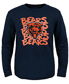 Outerstuff Chicago Bears Graph Repeat T-Shirt, Toddler Boys (2T-4T)