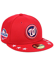 New Era Washington Nationals All Star Workout 59FIFTY Fitted Cap 2018