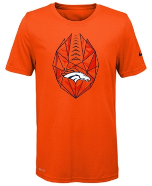 Nike Denver Broncos Football Icon T-Shirt, Big Boys (8-20)