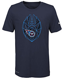Nike Tennessee Titans Football Icon T-Shirt, Big Boys (8-20)