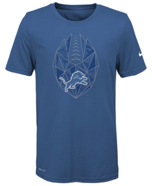 Nike Detroit Lions Football Icon T-Shirt, Big Boys (8-20)