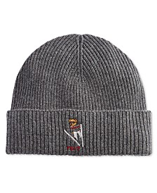 Polo Ralph Lauren Signature Merino Cuffed Beanie - Hats 86a312358bbe