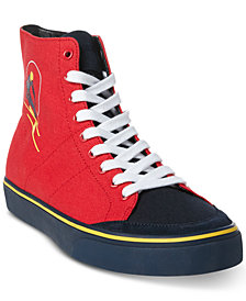 Polo Ralph Lauren Men's Solomon Ski-Patch Sneakers, Created for Macy's