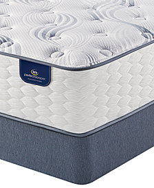 Serta Perfect Sleeper 12'' Cranbeck Plush Mattress Set- Queen