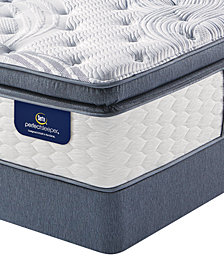 Serta Perfect Sleeper 14.75'' Glendower Firm Pillow Top Mattress Set- Queen