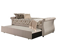 Hunter Backless Daybed with Trundle Unit