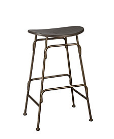 Mitchell Non-Swivel Backless Bar Stool