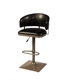 Pelfrey Adjustable Swivel Counter Bar Stool