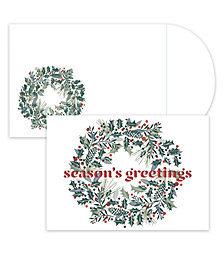 Masterpiece Studios Laser-Cut Wreath Boxed Cards