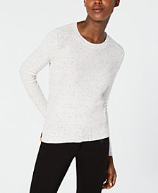 Eileen Fisher Organic Cotton Blend Crewneck Sweater, Regular & Petite