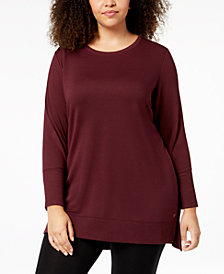 Ideology Long-Sleeve Tunic, Created for Macy's