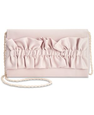 Image of Adriana Papell Karon Satin Clutch