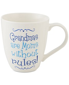 Grandmas Are Moms Without Rules Mug
