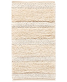 "CLOSEOUT! Cascada Home Cotton Jersey Stripe 30"" x 45"" Accent Rug"