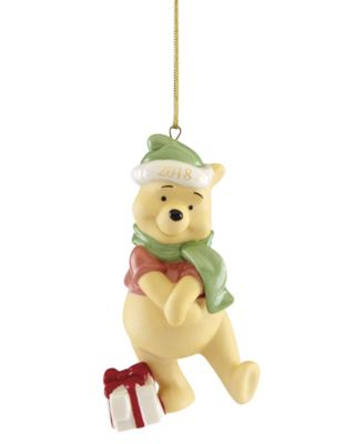 2018 Present From Pooh Ornament