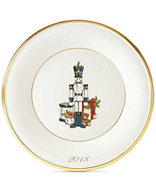 Lenox 2018 Toy Soldier Accent Plate