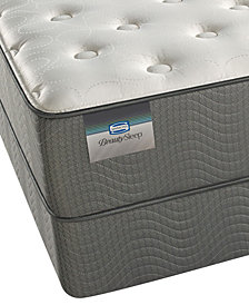 "ONLINE ONLY! BeautySleep 11.5"" Cascade Mountain Plush Mattress Set- Queen Split"