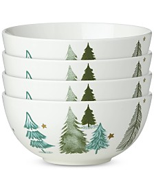 Lenox Balsam Lane Bowls, Set of 4