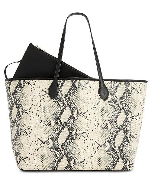 5f00fa3de65 Steve Madden Lindy Tote   Reviews - Handbags   Accessories - Macy s