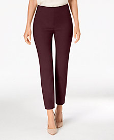 Charter Club Chelsea Petite Tummy-Control Ankle Pants, Created for Macy's