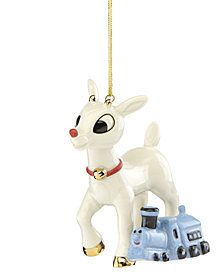 Lenox Rudolf's Misfit Friend Ornament