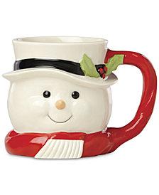 Lenox Snowman Mug