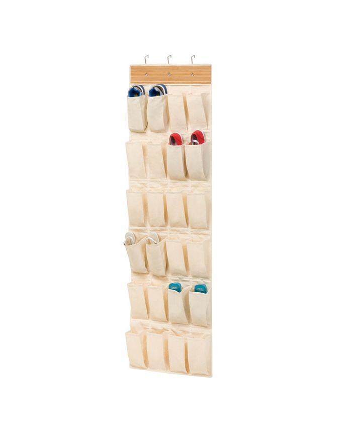 Honey Can Do - 24 pocket otd  organizer - bamboo/natural