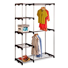 Double Rod Freestanding Closet