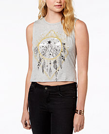 Rebellious One Juniors Dream Catcher Tank Top