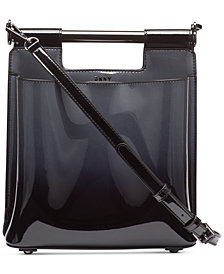 DKNY Ursa Mastrotto Leather Bucket Bag, Created for Macy's