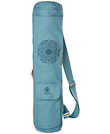 Gaiam Embroidered Mat Bag