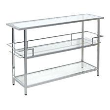 Portico Glass Bar Cart
