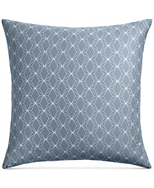 Hotel Collection Cascade Cotton 400-Thread Count Blue European Sham, Created for Macy's