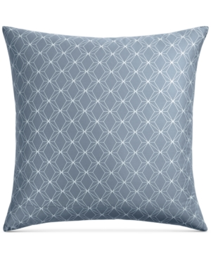 Closeout! Hotel Collection Cascade Cotton 400-Thread Count Blue European Sham, Created for Macy's Bedding