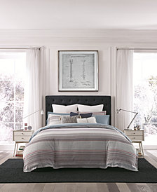 Tommy Hilfiger Alexander Stripe Reversible 3-Pc. King Comforter Set