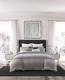 Tommy Hilfiger Alexander Stripe Reversible 3-Pc. Full/Queen Duvet Cover Set