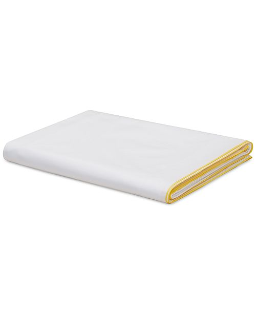 Calvin Klein CLOSEOUT! Series 1 Cotton 500-Thread Count King Flat Sheet