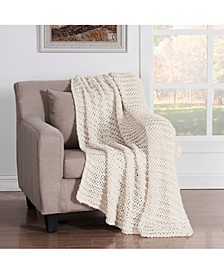 Luca Chunky Knit Throw