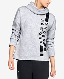 Under Armour Rival Fleece Funnel-Neck Hoodie